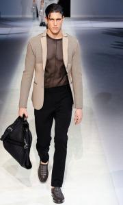 """la moda da vero """"uomo"""" di Giorgio Armani"""