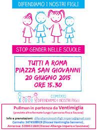 """""""Stop gender nelle scuole"""", la balla del gender è lo slogan per potare migliaia di persone in piazza"""